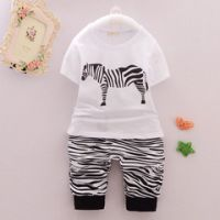 Boy's 95% Cotton 5% Spandex Knitted T-shirt/Pants