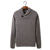 Men's 70% Acrylic 30% wool Knitted Pullover