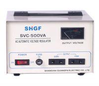 SVC/TND-500VA series single phase voltage stabilizer
