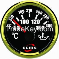 52mm Electronic Stepper Motor Auto Oil Temperature Gauge