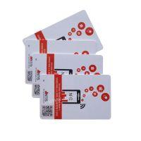 ISO 18000-6B uhf G2XL 4C printing RFID card