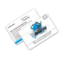 Custom logo rfid blank chip cards 860-960MHz Monza chip