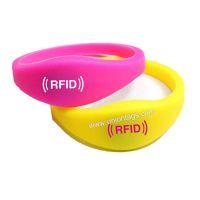 Free Custom Silicone EM4450 Cheap 125Khz RFID Wristband