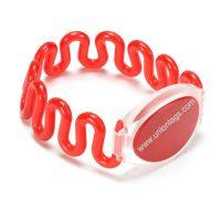 13.56MHz I Code Sli RFID Fabric Wristband for Swimming Pool