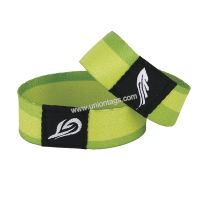 13.56MHz MF S50 Classic 1k NFC RFID fabric wristband for party events