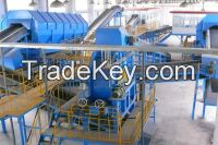 Municipal waste sorting, MSW recycling system