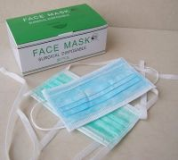 Disposable Face Mask 2Ply/3ply/4ply Ear loop & Tie On surgical mask