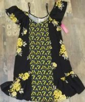 Spring / autumn Casual Ladies Sleeveless Printing  dress