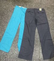 High Quality Stylish Casua In-stock Ladys Linen trousers pants