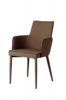 fabric armrest dining chair coffee chair EGC-2077
