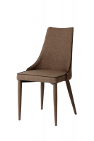 iron frame fabric covered dining chair EGC-2018