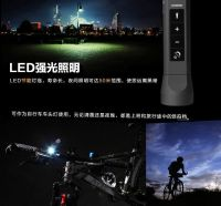 Wireless Bluetooth Speaker, Support Mobile Power Bank, Microphone, Emergency Torchlight, FM Radio & TF Card Function for Outdoor Riding Climbing Camping