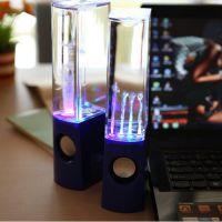 Water Dancing Light Show Fountain Speaker System, in Door Fountain Speaker for Laptop Computer USB Desktop Computer Speaker Party Speaker Water Speaker