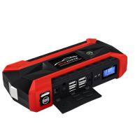 Car Jump Starter, Multi-function Emergency 12V Battery Power Auto Start Power LED Power Bank USB Charger for Cellphone Tablet Laptop