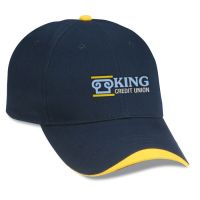 cusom logo baseball hats/ promotional company logo baseball caps