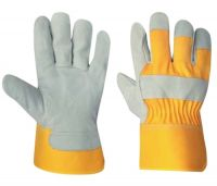 Split leather Working gloves, safety gloves,