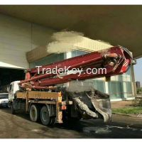 Cheap Used Sany Cement Concrete Pump Truck 37m for Sale
