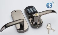 Architectural Hardware Bluetooth Door Locks Lever Handle Smart Electronic Digital Door Lock APP Lock