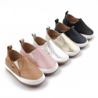 Fancy Wholesale Genuine Leather Popular Baby Sneakers Newborn Baby Shoes