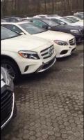 New stock Mercedes Bendz Cars, Mitubishi
