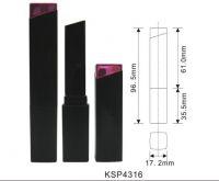 Empty Lipstick Tube High Quality Pink Slim Lipstick Packing Tube