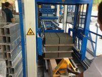 QT4-23 full automatic concrete block making machine for hollow brick