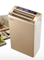 Home use air dehumidifier