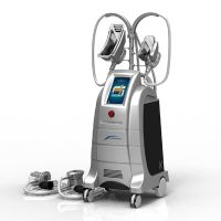4 hand pieces cryolipolysis fat freezing cryolipolysis slimming machine for double chin removal