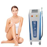 Double Handles IPL OPT SHR Permanent Hair Removal Machine for Salon