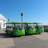 factory directly electric vehicle sightseeing shuttle bus