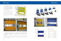 transparent polycarbonate rolling shutter door