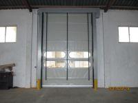 Automatic pvc high speed stackable door