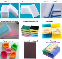Magic cleaning melamine sponge and scouring pad