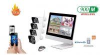 MAYON Wireless LCD NVR & Camera Kits/Surveillance Systems