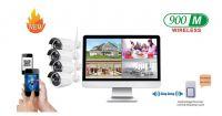 MAYON Wireless LCD NVR & Camera Kits/Security Systems