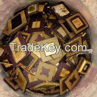 Intel Pentium Pro Ceramic CPU Processor Scraps