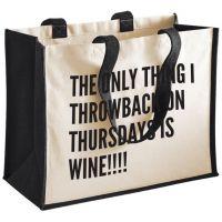 100% Cotton Shopping Bag/ Calico Bag/ Tote Bag/ Printed Shopping Bag