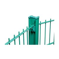 PANEL FENCING SYSTEM GALVANISED AND PVC COATED