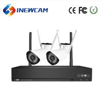 DIY 2ch 1080P IP Camera Wireless CCTV System