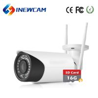 2.8-12mm Motorized Zoom Lens Outdoor 4MP Wireless CCTV Camera With Memory Card