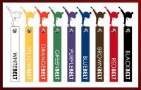 Martial Arts Color Belts All types