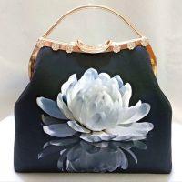 Hand crafts retro Chinese style handcrafts gifts craft handbag
