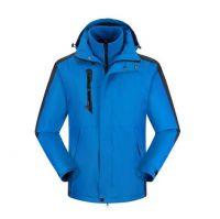 wholesale casual wear polyester with fleece liner windproof outwear outdoor winter jacket