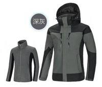 wholesale casual wear nylon with fleece liner windproof outwear outdoor winter jacket
