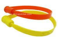 high security china plastic seal single use pull tight PL112