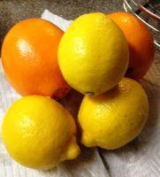 Fresh Lemon And Oranges