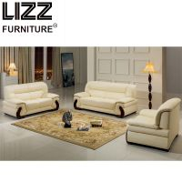 Office Furniture Genuine Leather Sofa Divany