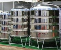 Indurstial water treatment Stainless Steel 500 liter water tank price