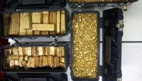 gold bars and nuggets available for sell
