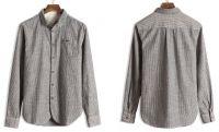 Cotton oxford shirt.